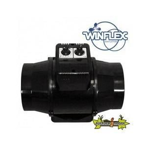 Winflex Ventilation extracteur d'air TT 125mm U 280m³/H thermostat-variateur