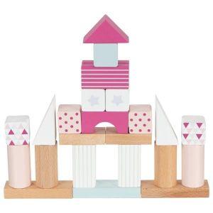 Goki Baril de construction framboise