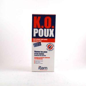 ITEM K.O. Poux - Gel crème anti-poux