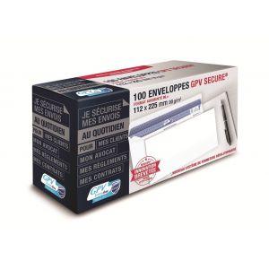 Gpv 5050 - Enveloppe Every Day 112x225, 90 g/m², coloris blanc - boîte de 100