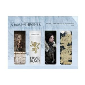 SD Toys 4 marque-pages magnétique Game of Thrones