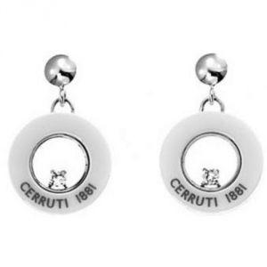 Cerruti R31384WZ - Boucles d'oreilles en céramique pour femme