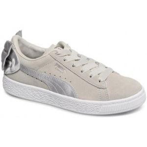 Puma Suede Bow AC PS, Sneakers Basses Fille, Gris Gray Violet 06, 35 EU