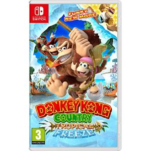 Donkey Kong Country: Tropical Freeze - Import anglais, jouable en français [Switch]