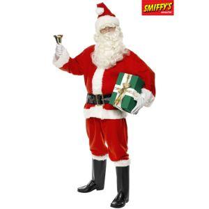Déguisement Père Noël luxe (taille M, L ou XL)