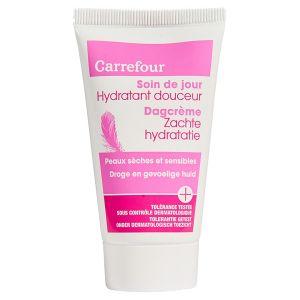 Carrefour Soin de jour hydratant douceur peaux sèches et sensibles