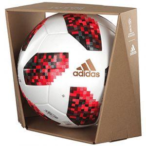 promo code 7345a f1f65 Image de Adidas Ballon Coupe du Monde 2018 Telstar 18 Ballon de Match  Mechta Pack -