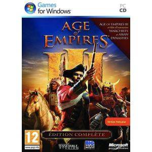 Age of Empires III Complete Collection : Le jeu + les extensions The War Chiefs et The Asian Dynasties [PC]