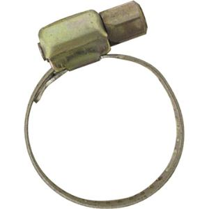 Boutté 0201426 - Colliers bande ajourée en acier de Ø9 à 18 mm L.8, lot de 2