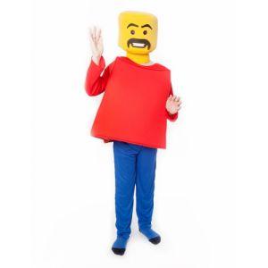 SECONDE PEAU ENFANT LEGO BLOC-TAILLE 10/12 ANS
