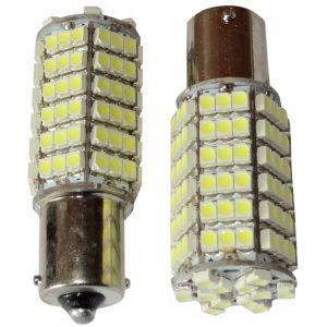 Aerzetix : 2x ampoule 24V P21W R10W R5W 120LED SMD blanc pour camion semi-remorque porte de garage portail