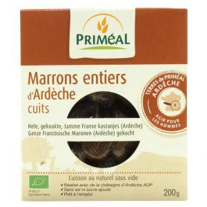 Priméal Marrons entiers cuits sous vide