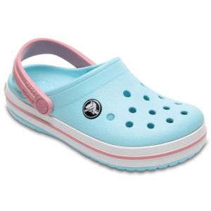 Crocs Tongs Crocband Clog - Ice Blue / White - EU 33-34