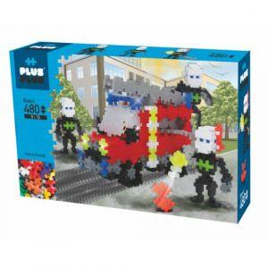 Plus Plus Box mini - 480 pièces - brigade incendie