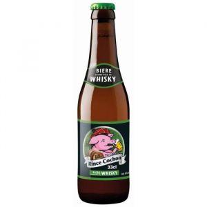 Rince Cochon BRASSERIE HAACHT Whisky Dark Ale Bière Brune - 33 cl - 8,5 %
