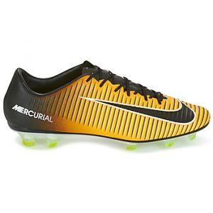 Nike Mercurial Veloce III FG Chaussures de Sport Hommes Orange/Noir - 39 - Football