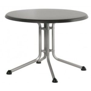 Kettler 0307016 - Table de jardin ronde pliante Kettalux plus Ø100 x 74 cm