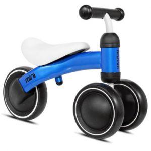 Kazam Draisienne porteur enfant 3 roues Mini, bleu blanc