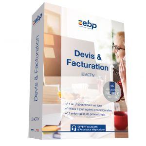 Logiciel Devis & Facturation Activ Gd Saas 12 Mois + Cmaj [Windows]