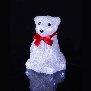 Bear - Ours lumineux 16 LED sur piles (16 cm)