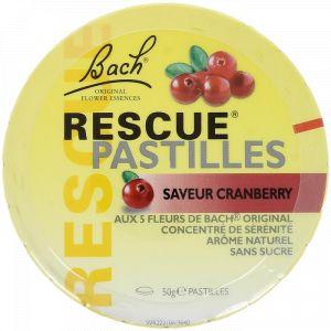 Bach Rescue Pastilles saveur cranberry