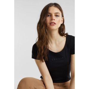 Esprit T-shirt T-SHIRTS LOGO - Couleur EU S,EU M,EU L - Taille Noir