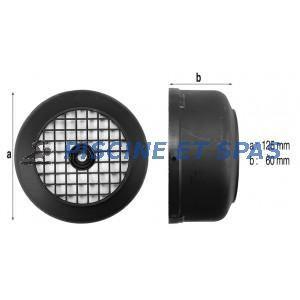 Procopi 520510 - Capot de ventilateur de moteur de pompe Magic 8 et 11