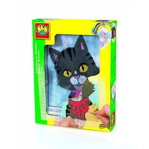 Ses Creative Couture - Set de broderie : Chat
