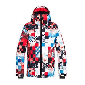 Quiksilver Mission Printed Youth Jk Flame Scarlett Money Time
