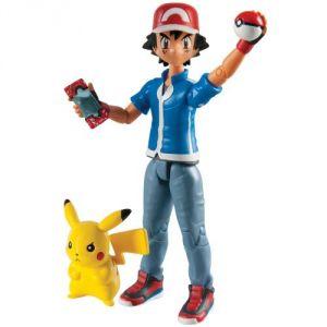 Tomy T18516 - Pokémon Sacha & Pikachu