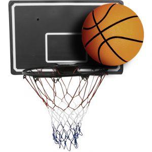 Bentley Set de basket-ball - panneau (90cm)+cercle avec filet (45cm) - ballon taille 7 - CHARLES