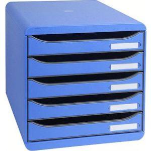 Exacompta Module de classement Big-Box Plus 5 tiroirs