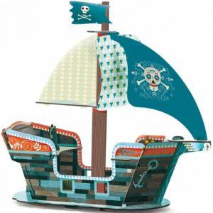 Djeco Bateau de pirate 3D