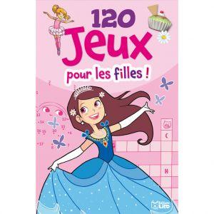 Editions Lito 120 Jeux pour les Filles Bloc d'Activités 5 à 7 ans