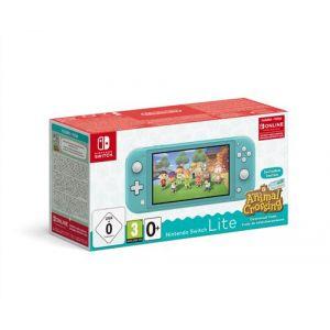 Nintendo Console Switch Lite Turquoise+AC+contenu