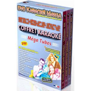 Karaoké Mania Coffret 3 DVD : Spécial Méga Tubes - DVD