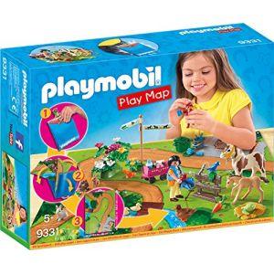 Playmobil 9331 - Cavaliers et poneys avec support de jeu