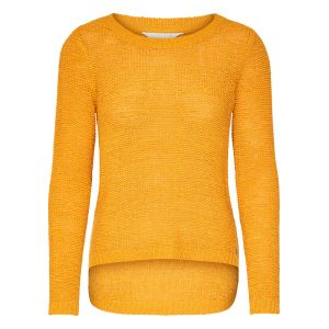 Only NOS Onlgeena XO L/s Pullover KNT Noos Pull, Jaune Golden Yellow, 36 (Taille Fabricant: X-Small) Femme