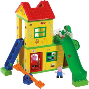 Big Peppa Pig - A la maison Play Bloxx