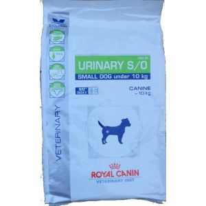 Royal Canin Veterinary Diet Chien Urinary S/O Small Dog USD 20 - Sac 8 kg