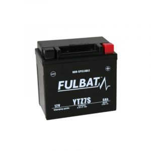 Fulbat Batterie moto YTZ7S étanche AGM 12V / 6Ah