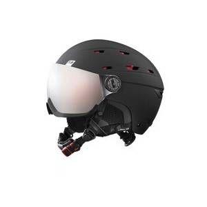 Julbo Casque de ski mixte Noir NORBY VISOR Noir / Rouge - Ecran interchangeable 1+3 - 60/62