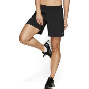 Asics 7 Shorts - Short running Femme - noir M Collants & Shorts Running