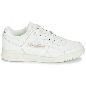 Reebok Chaussures Classic WORKOUT LO PLUS blanc - Taille 36,37,38,39,40,41,42,35,42 1/2,35 1/2,37 1/2,38 1/2