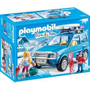 Image de Playmobil 9281 - Family Fun : 4x4 avec coffre de toit
