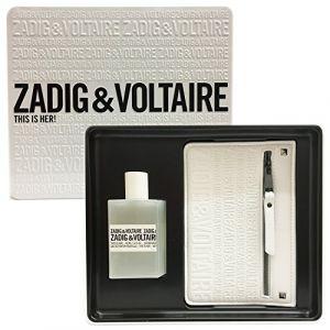 Zadig & Voltaire This is Her! - Coffret eau de parfum et trousse