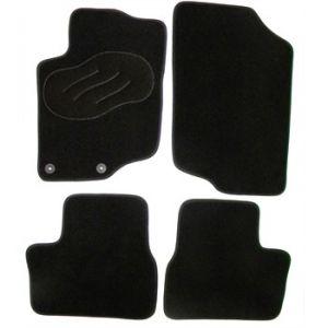 Norauto 763908 - Jeu complet de tapis sur mesure noir en moquette