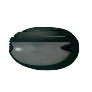 Prisma 5707 226411 - Applique d'extérieur CHIP avec écran noire
