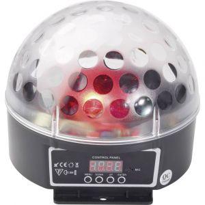 eurolite Projecteur à effets LED DMX LED BC-6 Nombre de LED:5 x