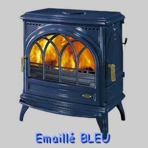 Poele Bois Godin Carvin Bleu Emaille Comparer 11 Offres